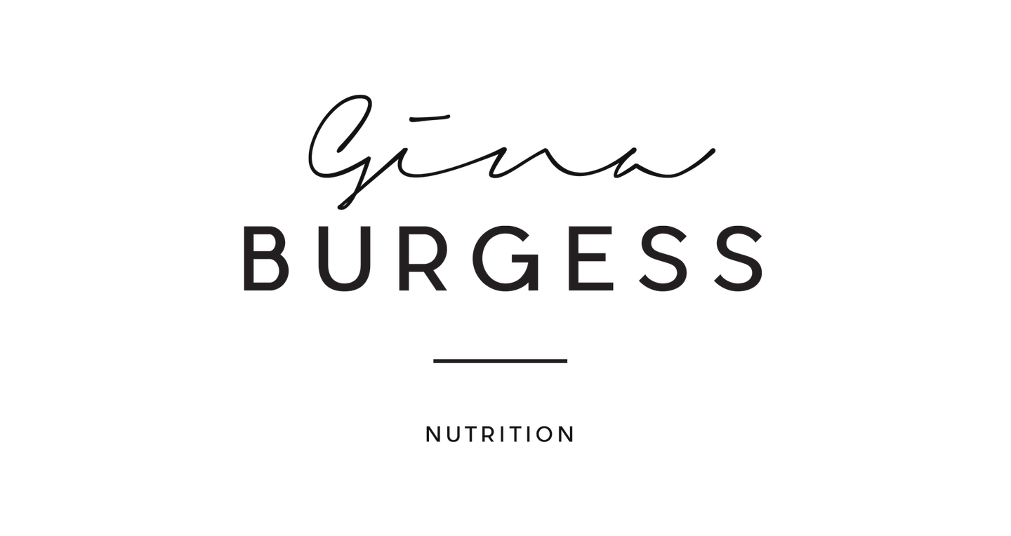 Gina Burgess Nutrition