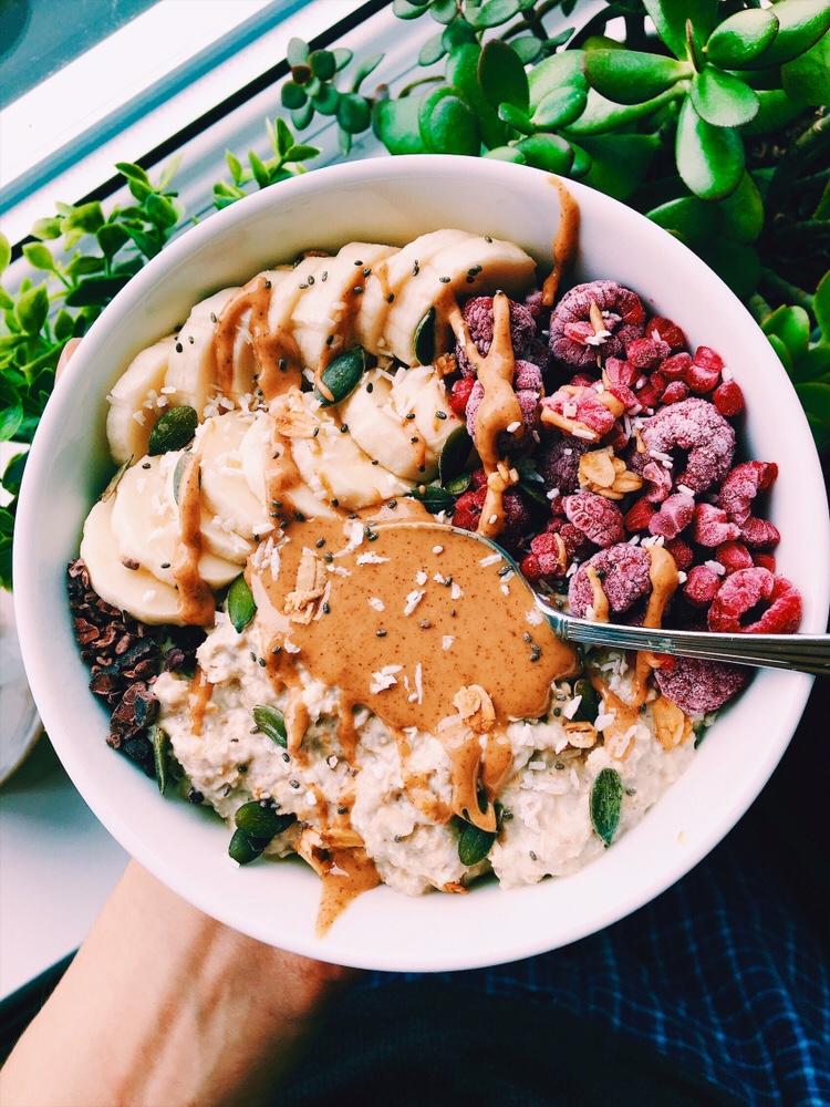 Overnight Chia Oat Pudding {vegan, gluten free}