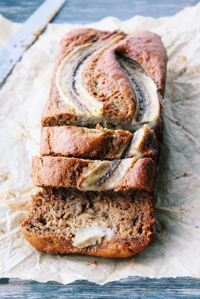 Easy Vegan Banana Bread {vegan, gluten free}