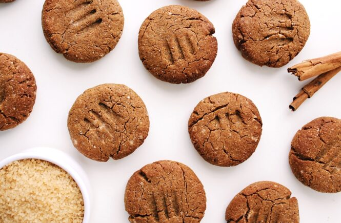 Soft Gingerbread Cookies {vegan, gluten free}