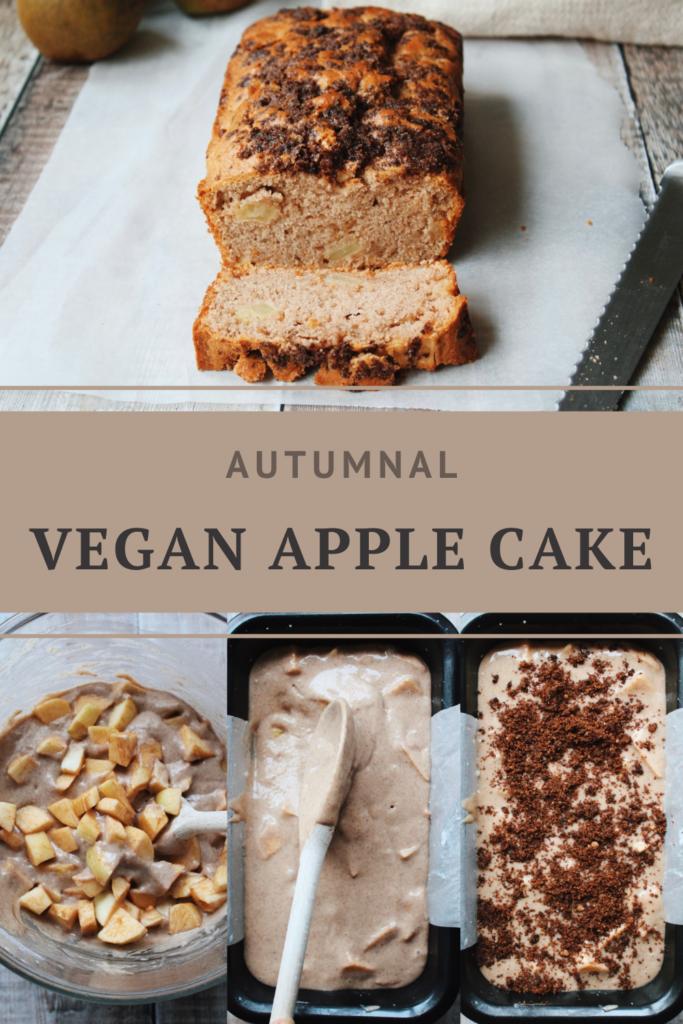 Vegan Autumn Apple Cake