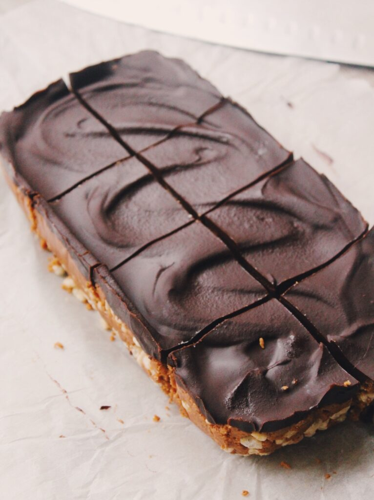 Vegan Chocolate Crunch Protein Bars {vegan, gluten free}