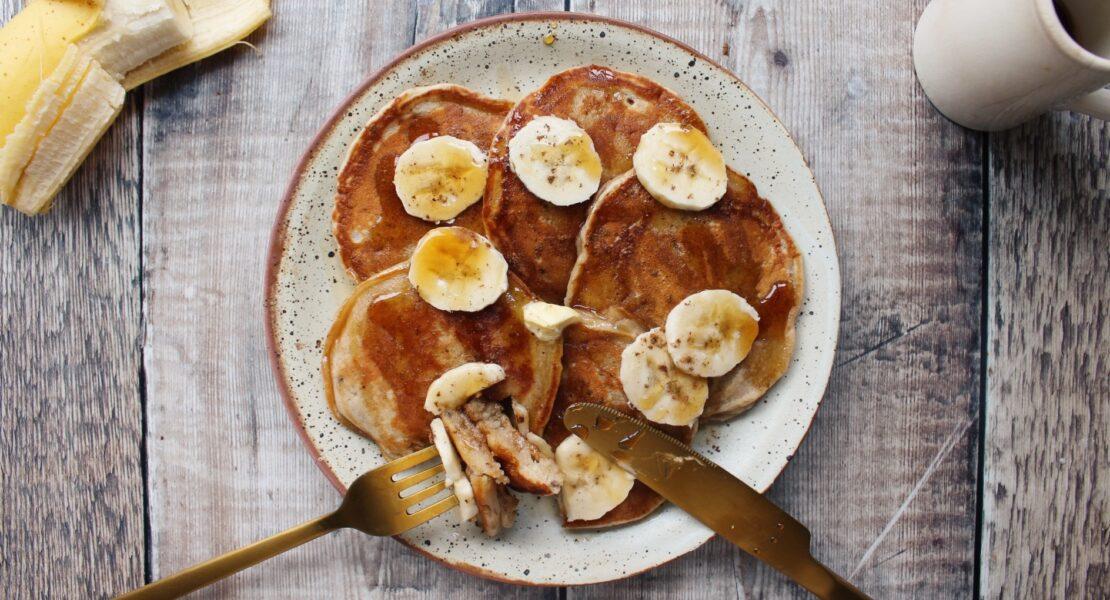 Vegan Banana Bread Pancakes